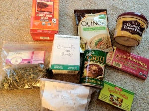 August Swap Box Goodies